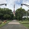 6月14日(木)hatenaより芝公園からの東京タワー。