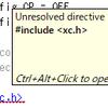 MPLAB X IDE で xc.h が見つからない問題