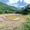 岳野溜池(島根県隠岐島)