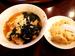 「芳香園」の「ワンタン麺と半炒飯」
