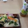 和風弁当と今川焼