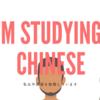 「私は中国語を勉強しています 」を中国語で言うと我在学习中文