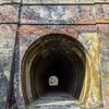【篠ノ井線の廃線】開業当時のレンガ造りが現存!漆久保トンネルを歩く