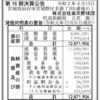 株式会社楽天野球団 第16期決算公告