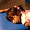 父は疲れ切っているが娘はまだまだ元気(らしい) @日本科学未来館