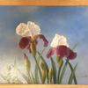 最近購入した絵画について⑨『ジャーマンアイリス (油彩画)』(近藤俊一)