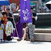 ふくこい踊り隊:関門よさこい大会2017(門司港、親水公園)