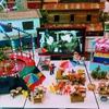 バンコクの縁日の謎の屋台とマグロステーキ