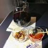 メキシコシティから成田空港へ、深夜の直行便 ANAビジネスクラスHN0179便、ラウンジでの「おもてなし」、沢山頼んだ機内食