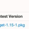 Mac OS X Yosemiteでwgetコマンドが使えない。
