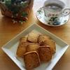 手作りカボチャの種クッキー de おうちカフェ