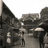 曇天・・・白い吐息・・・・京都市初冬そぞろ歩き・・・・・