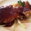 【燕市】分厚いお肉〜!『ビストロ&カフェ 六朝館』の「生姜焼き」は厚みがすごい^^