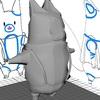 maya:Udemyの簡単&かわいい3Dモデリングを受講2