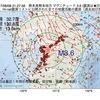 2017年08月08日 21時27分 熊本県熊本地方でM3.6の地震