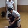 純和会道場での総合格闘技練習