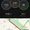 朝の刺激入れ2キロ完了、明日は30キロレース