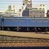 オヤジカメラ汚写真 たぶん1976年頃の国鉄岐阜駅 381系・583系