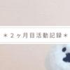 ブログ・デザイン初心者の2ヶ月目活動記録!