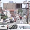 影像!熊本県熊本市中央区の肥後銀行京町支店地下駐車場で車両火災