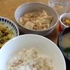 ピリッと辛いマーボー豆腐・豆苗と卵炒め