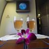 タイ国際航空 B777 ビジネスクラス搭乗記【バンコク→シンガポール】