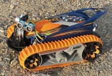 トイラジコンを自動走行ロボットにする。超音波センサー5個とArduinoで工作