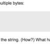 golang で utf8 でない文字列を for range で回すとどうなるか