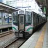 小牛田駅でキヤE195系を観察