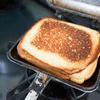 【ホットサンドメーカーレシピ】低糖質パンで作るタマゴホットサンド~藤川理論・うつ消しごはん~