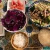 紫キャベツの塩昆布和え