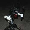 工作: ポラリエ+パノラマヘッドx2+Lブラケット=ミニマル片フォーク赤道儀