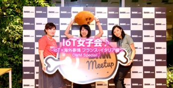オシャなフランスで今IoTスタートアップがあつい!DMM meetup IoT女子会レポート - フランス×DMM.make AKIBA
