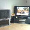 テレビが大きくなりまして