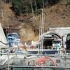 自然に対する侵襲の凄さよ・・・第二東名トンネル工事現場