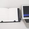 ノートを自立させるノートカバー