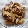 しいたけとエリンギの醤油炒めのレシピ