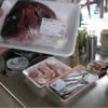 幸運な病のレシピ( 456 )朝:鶏のから揚げ、シシャモフライ、鯛の頭の唐揚げ