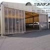 愛知県 工場のキャスターテント