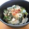 長芋とろろをシャキトロ食感にするあさイチの裏技で梅とろろ麦ご飯を作ってみた