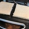 【父ちゃん手料理】食パンワッフル。ホットサンドにすれば良かったかな(汗)