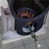 小型の焙煎機(7)専用置台が完成
