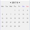 python tkinterでGUIアプリを作る(第2弾~カレンダー編①~)