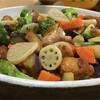 鶏と野菜の黒酢あんを素揚げせず簡単に作る方法