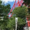 東京タワーの下