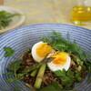 アスパラガス&平飼い鶏卵のせ 菜園サラダ