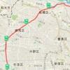 ②赤羽から二子玉まで(20~50km)