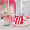 【韓国カフェ紹介】フェトジェニックなカフェで赤いケーキをたべたよ