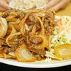 宜野湾市・大学生に愛されるデカ盛り食堂「悠楽」で朝鮮焼肉定食を食す。