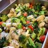 鶏肉とブロッコリーの豆乳煮込み